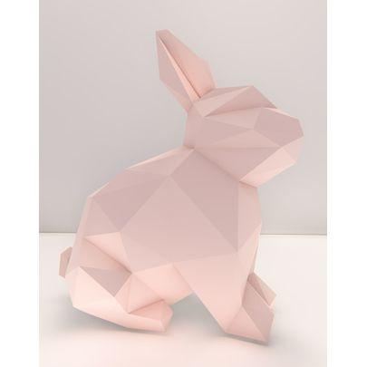 Coelho-Decorativo-Rosa