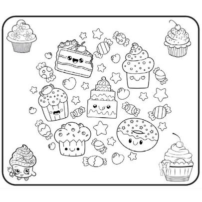 Tapete-Cupcake