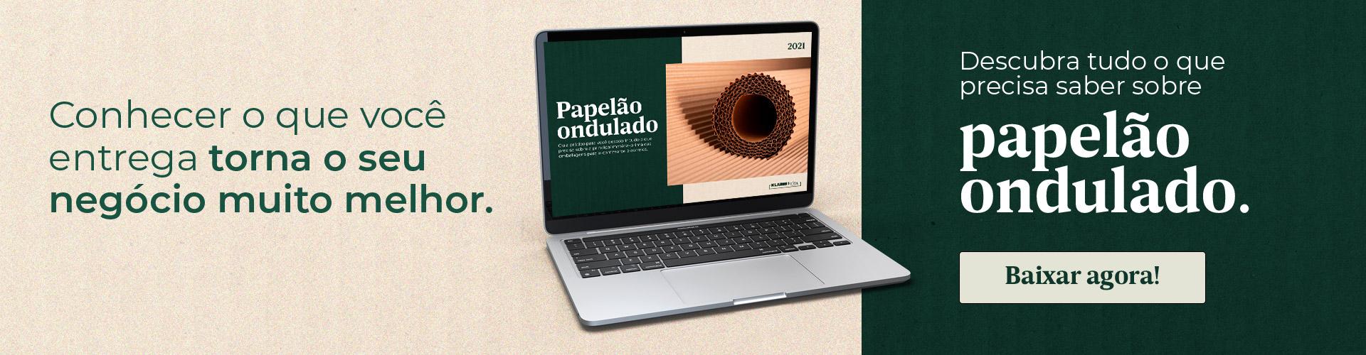 E-book papelão ondulado