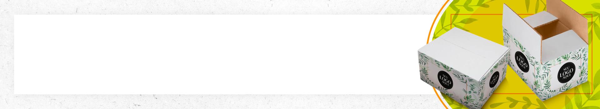 Caixa Personalizada Branca