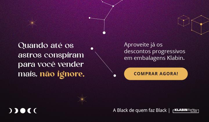 Black Friday - Embalagens